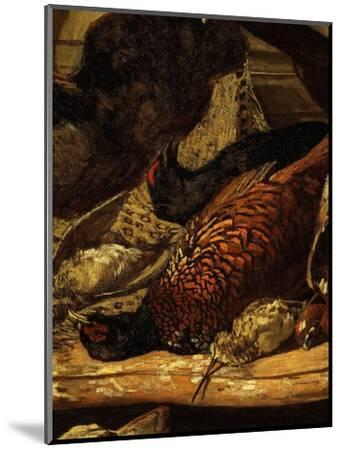 Pheasant and Woodcock, from Trophée De Chasse, or Hunting Trophies, 1862, Detail-Claude Monet-Mounted Premium Giclee Print