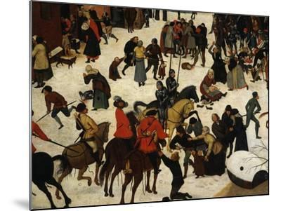 The Massacre of the Innocents (Detail)-Pieter Brueghel the Younger-Mounted Giclee Print