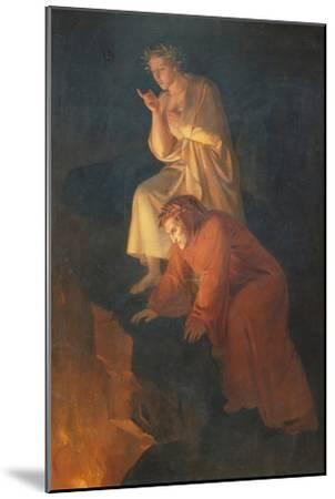 Dante and Virgil, 1855-Rafael Flores-Mounted Giclee Print