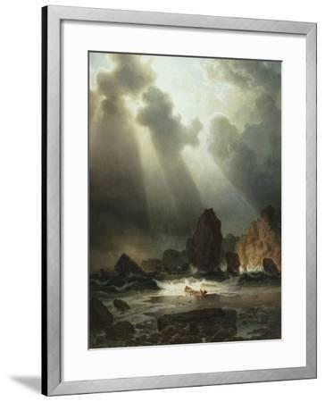 After the Storm, 1855-Johannes Cordes-Framed Giclee Print