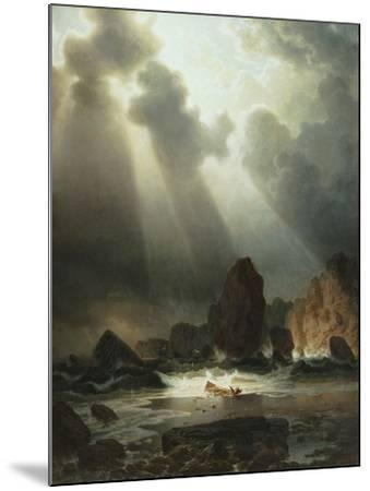 After the Storm, 1855-Johannes Cordes-Mounted Giclee Print