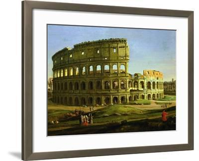 Colosseum, from the Colosseum and the Roman Forum (Inv 884), Detail-Gaspar van Wittel-Framed Giclee Print
