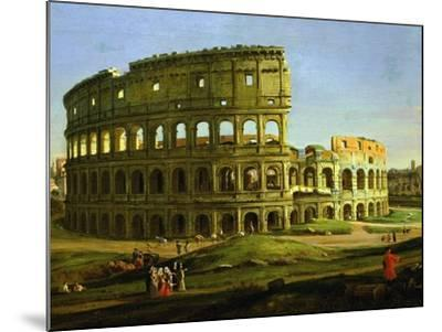 Colosseum, from the Colosseum and the Roman Forum (Inv 884), Detail-Gaspar van Wittel-Mounted Giclee Print