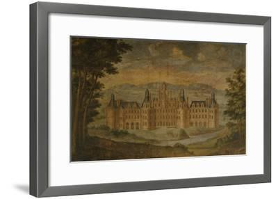 Château De Chambord, Mural Painting, C. 1680-85, Italian Gallery, Château De Gizeux, Touraine--Framed Giclee Print