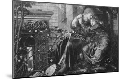 Love Among the Ruins, 1894, Engraved by M Dormoy-Edward Burne-Jones-Mounted Giclee Print