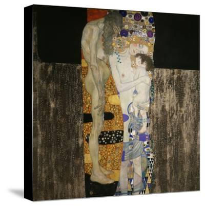 The Three Ages of Woman, 1905-Gustav Klimt-Stretched Canvas Print