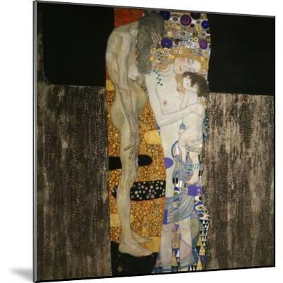 The Three Ages of Woman, 1905-Gustav Klimt-Mounted Giclee Print