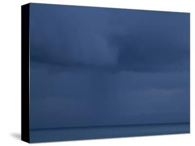 A Cloud Covered Blue Sky over the Pacific Ocean in Costa Rica-Michael Melford-Stretched Canvas Print
