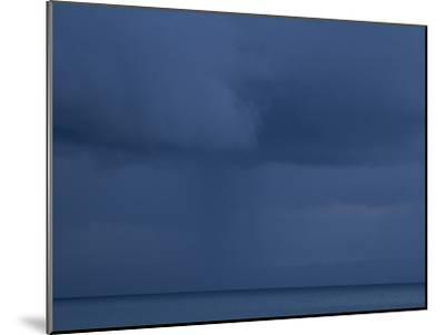 A Cloud Covered Blue Sky over the Pacific Ocean in Costa Rica-Michael Melford-Mounted Photographic Print