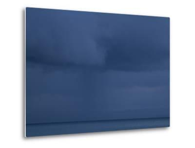 A Cloud Covered Blue Sky over the Pacific Ocean in Costa Rica-Michael Melford-Metal Print