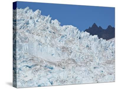 Bear Glacier in Kenai National Park-Michael Melford-Stretched Canvas Print