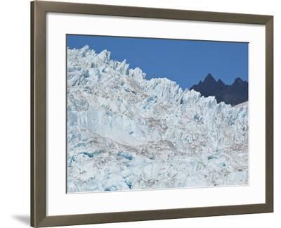 Bear Glacier in Kenai National Park-Michael Melford-Framed Photographic Print