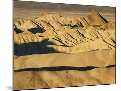 Rugged and Ridged Landscape at Zabriskie Point, Death Valley-Marc Moritsch-Mounted Photographic Print