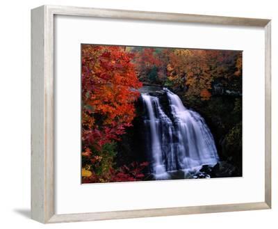 Brandywine Falls in the Cuyahoga National Recreation Area, Ohio-Melissa Farlow-Framed Premium Photographic Print