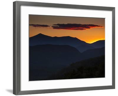 Whiteface Mountain in the High Peaks Region of Adirondak Park-Michael Melford-Framed Photographic Print