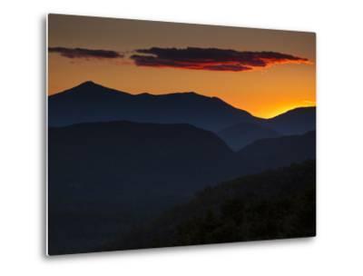 Whiteface Mountain in the High Peaks Region of Adirondak Park-Michael Melford-Metal Print