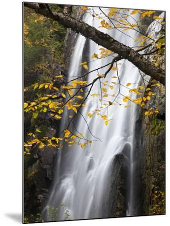 Rainbow Falls in the Saint Huberts Region of the Adirondacks-Michael Melford-Mounted Photographic Print