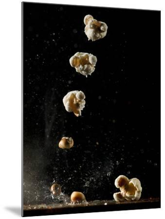 Multiple Exposure of a Single Popping Popcorn-Bruce & Greg Dale-Mounted Photographic Print