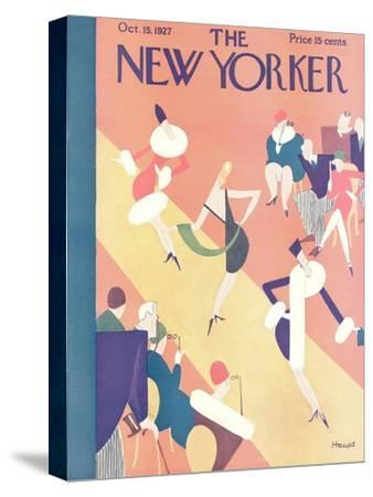 The New Yorker Cover - October 15, 1927-Theodore G. Haupt-Stretched Canvas Print