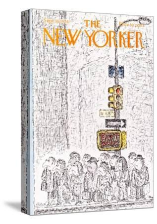 The New Yorker Cover - September 16, 1974-Edward Koren-Stretched Canvas Print