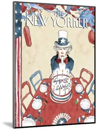 The New Yorker Cover - July 4, 2005-Barry Blitt-Mounted Premium Giclee Print