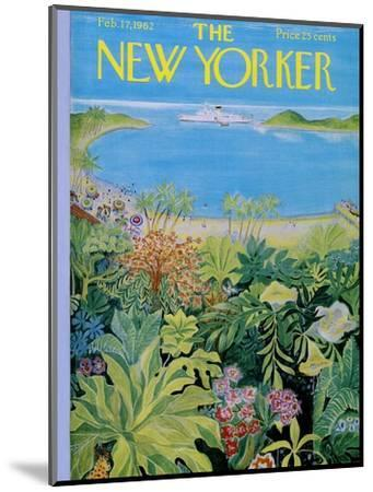 The New Yorker Cover - February 17, 1962-Ilonka Karasz-Mounted Premium Giclee Print
