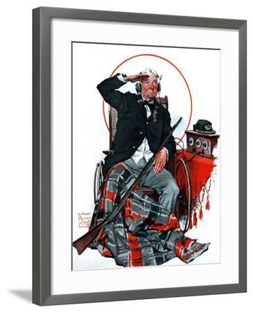 """Civil War Veteran,""May 30, 1925-William Meade Prince-Framed Giclee Print"