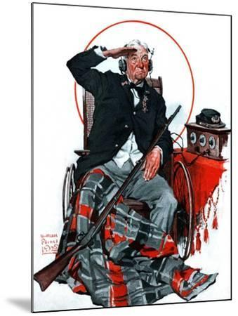 """Civil War Veteran,""May 30, 1925-William Meade Prince-Mounted Giclee Print"