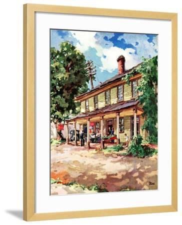 """""""Country Inn,""""September 1, 1939-G. Kay-Framed Giclee Print"""