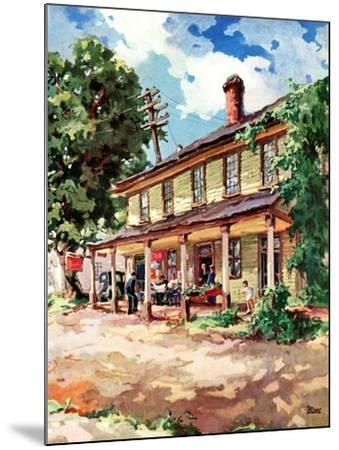 """""""Country Inn,""""September 1, 1939-G. Kay-Mounted Giclee Print"""