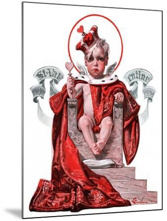 """Baby King Valentine,""February 14, 1925-Elbert Mcgran Jackson-Mounted Giclee Print"