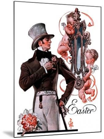 """Easter Finery,""April 11, 1925-Joseph Christian Leyendecker-Mounted Giclee Print"