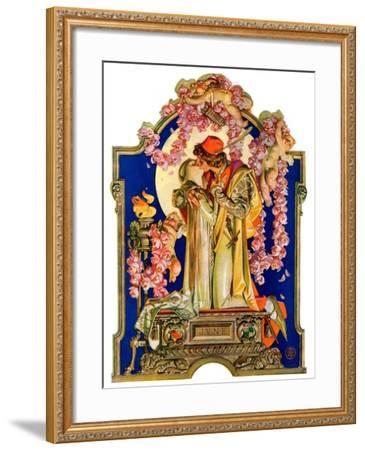 """""""Romeo and Juliet,""""June 8, 1929-Joseph Christian Leyendecker-Framed Giclee Print"""