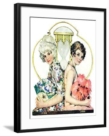 """You've Come a Long Way Baby,""July 10, 1926-Ellen Pyle-Framed Giclee Print"