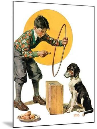 """""""Old Dog, New Tricks,""""July 11, 1931-Frederic Stanley-Mounted Giclee Print"""