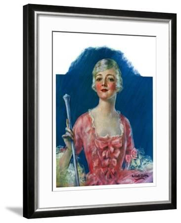 """Costumed Woman,""December 10, 1927-William Haskell Coffin-Framed Giclee Print"