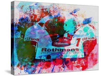 Porsche 917 Rothmans 2-NaxArt-Stretched Canvas Print