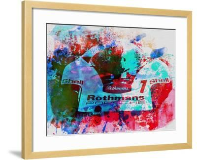 Porsche 917 Rothmans 2-NaxArt-Framed Art Print