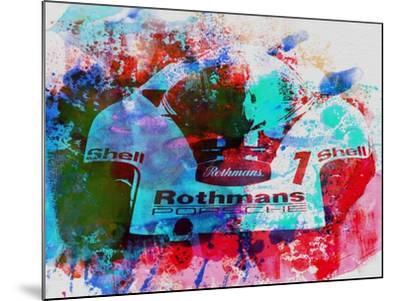 Porsche 917 Rothmans 2-NaxArt-Mounted Art Print