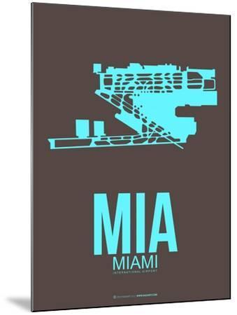 Mia Miamy Poster 2-NaxArt-Mounted Art Print