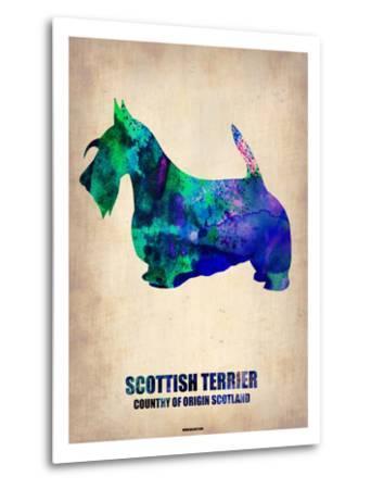 Scottish Terrier Poster-NaxArt-Metal Print
