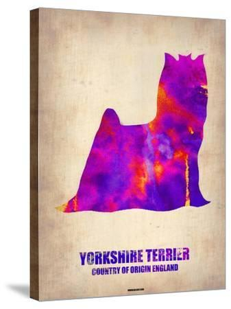 Yorkshire Terrier Poster-NaxArt-Stretched Canvas Print