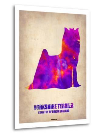 Yorkshire Terrier Poster-NaxArt-Metal Print