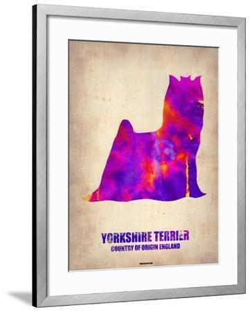 Yorkshire Terrier Poster-NaxArt-Framed Art Print