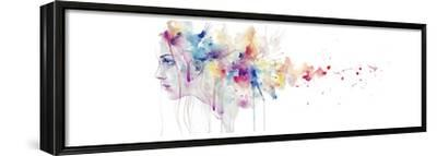 Wake of Herself-Agnes Cecile-Framed Stretched Canvas Print