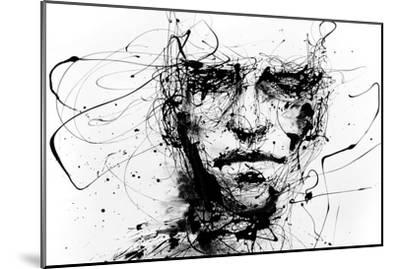 Lines Hold The Memories-Agnes Cecile-Mounted Premium Giclee Print