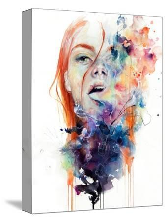 This Thing Called Art Is Really Dangerous-Agnes Cecile-Stretched Canvas Print