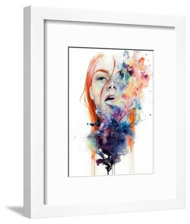 This Thing Called Art Is Really Dangerous-Agnes Cecile-Framed Premium Giclee Print