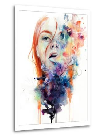 This Thing Called Art Is Really Dangerous-Agnes Cecile-Metal Print
