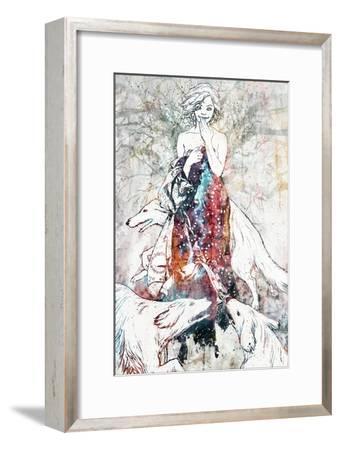 Tinderbox-Alex Cherry-Framed Art Print